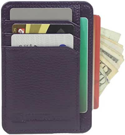 RFID Wallet Front Pocket Mini - Protective Minimal Wallets for Men and Women